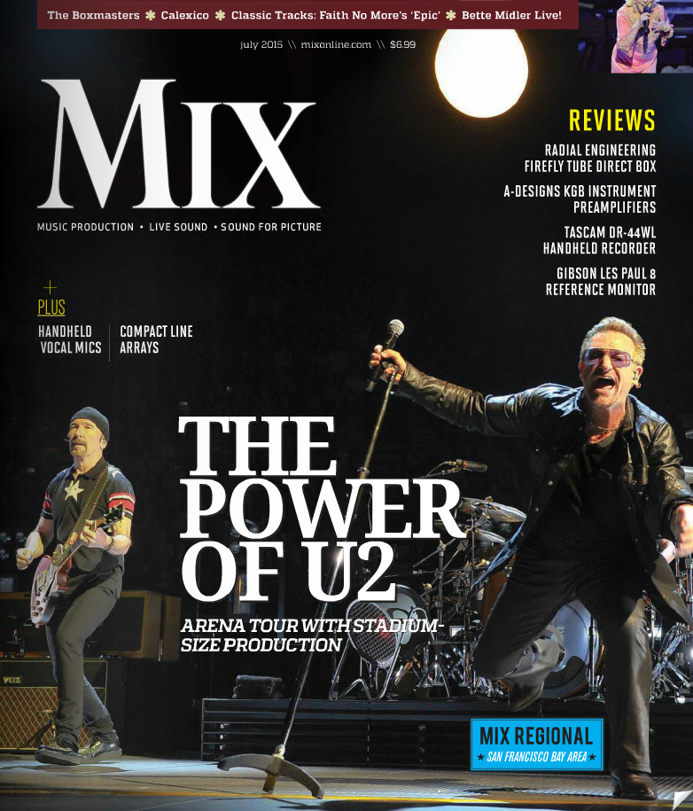 Mix 2015 July Cover